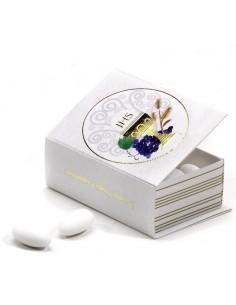 Astuccio portaconfetti libro con calice cm 9 - Bomboniere Shop Store