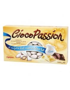 Confetti ciocopassion latte bianchi - Bomboniere Shop Store