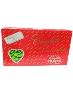 Cnfetti cuoricino mignon verde 1kg - Bomboniere Shop Store