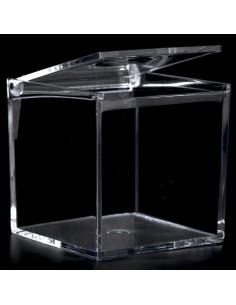 scatola quadrata in plex cm8x8x8 pezzi 12 - Bomboniere Shop Store