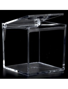 scatola quadrata in plex cm8x8x8 pezzi 12 BomboniereShopStore