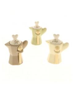 COFFEE MOKA SCRITTE S/3 H 12        6/48