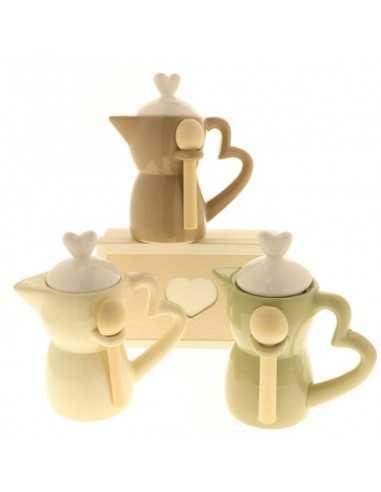 Zuccheriera COFFEE MOKA TENUE cm16